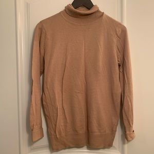 Old Navy Tan Turtleneck Sweater